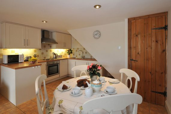 Byre kitchen dining are