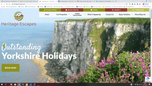 Heritage Escapes Website